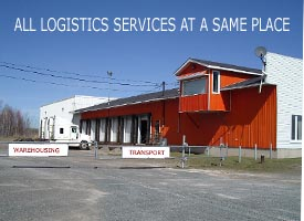 all logistic service at a same place