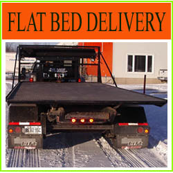 flat bed delivery