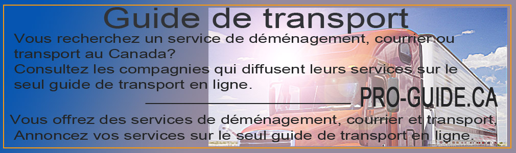 guide de transport